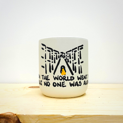 When the world went quiet, but no one was alone... - 12oz Candle