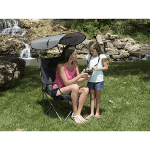 🚛BUY 2 FREE SHIPPING🚛Premium Portable Camping Folding Lawn Chairs with Canopy