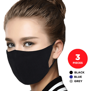 🔥ONLY $9.99 for 3 pcs🔥 Quantum 2-Ply Cotton Reusable Face Mask