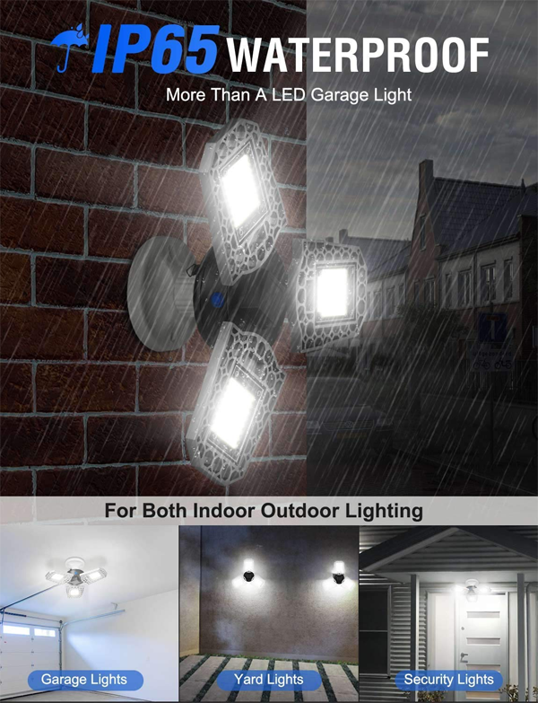 Three-Leaf Garage Light - 💥50% OFF - Early Spring Promotion