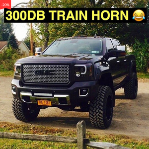 Buy 2 Free shipping-300 DB Super Train Horn For Trucks