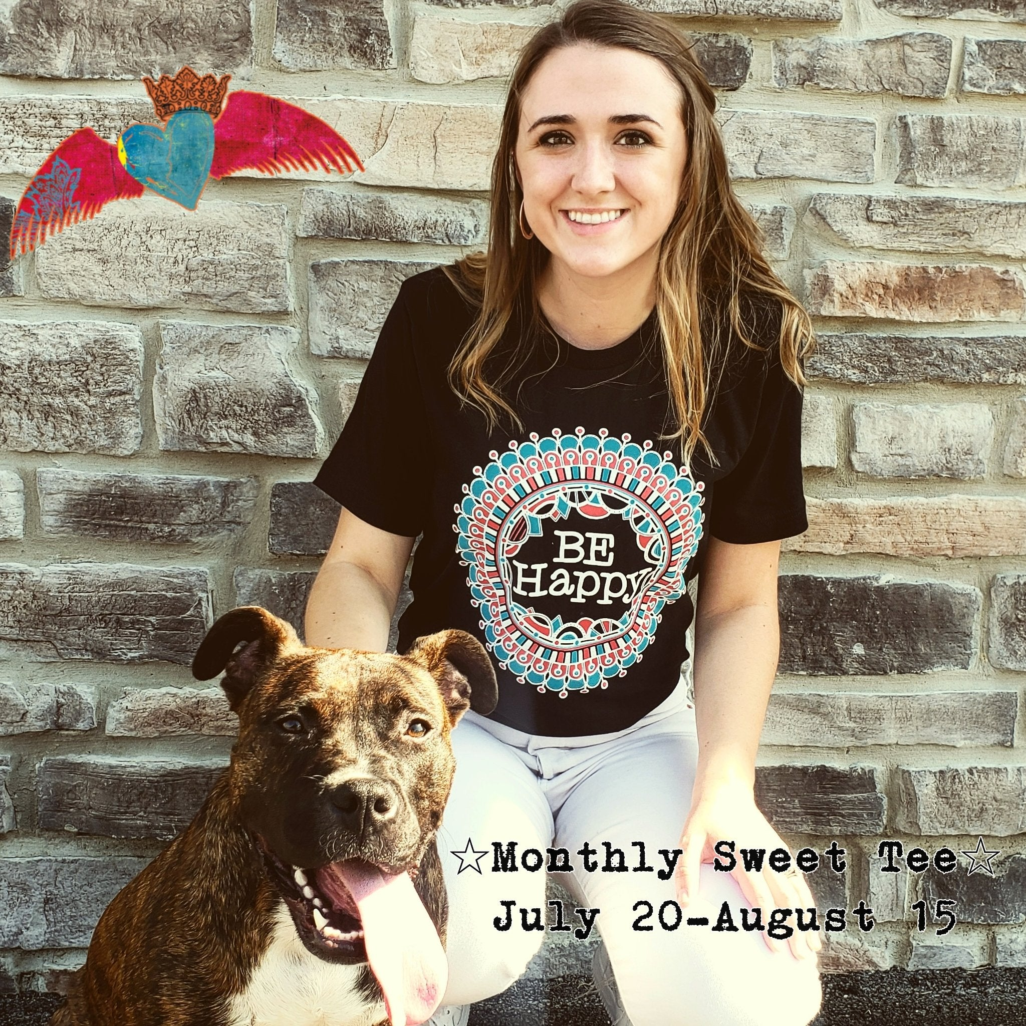 Monthly Sweet Tee (New Unique Design Monthly! Limited Quantities!)