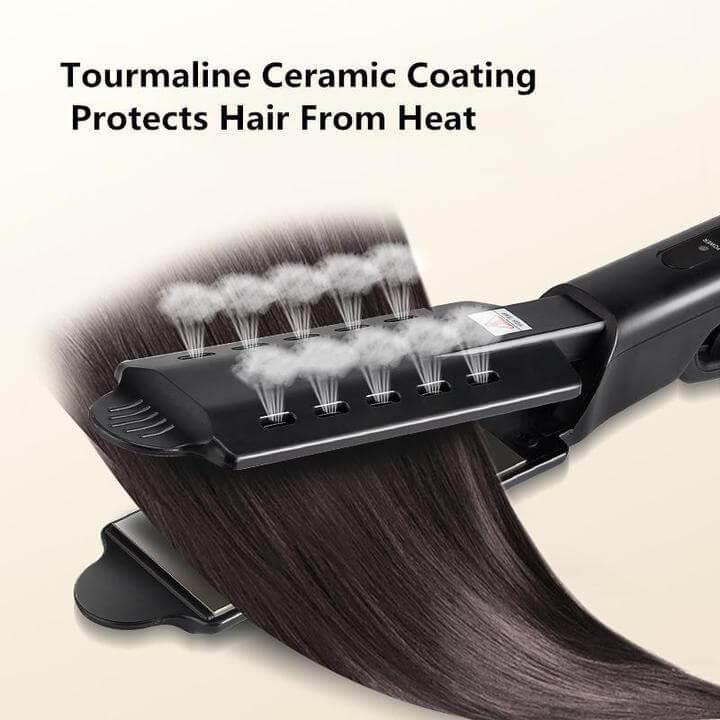 🔥 Ceramic Tourmaline Ionic Flat Iron Hair Straightener🔥BUY 2 NO POSTAGE🔥2020 Upgrade(Professional Anion+ Steam Protects Hair)