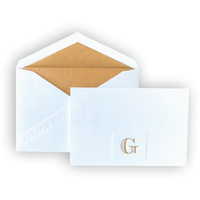 AA Paper&Co. Monogram Thank You Cards, Petite