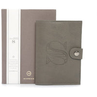 AA Paper&Co. Fine Leather Monogram Notebook
