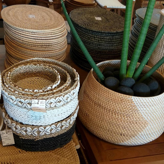 Rattan Homewares