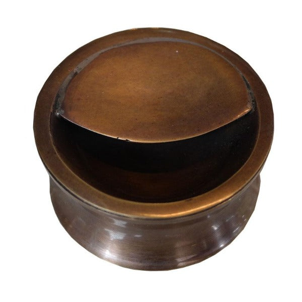 Brass Ashtray Concave