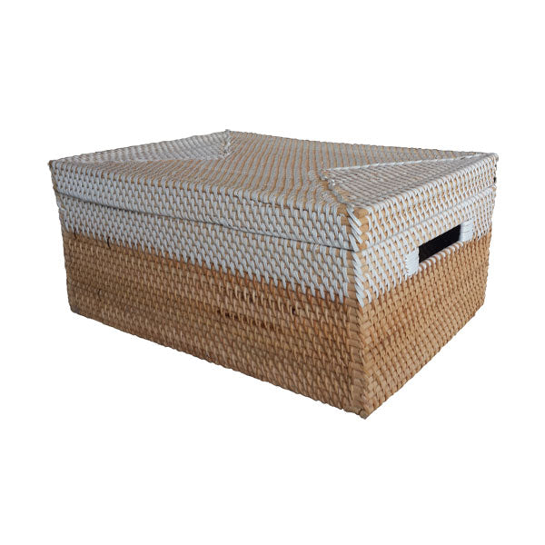 Rattan Laundry Basket- Room Delivery