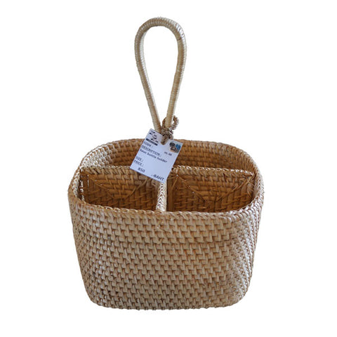 Rattan Sauce Condiment Holder