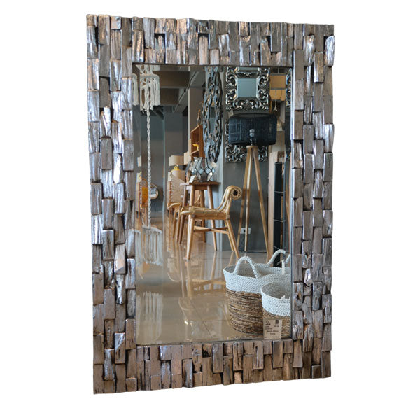 Mirror Frame-Bricked