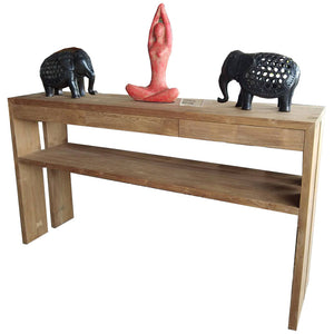 Salawin Console Table- Quad Leg