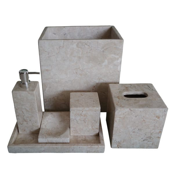 Squared Essential Bathroom Amenity Set