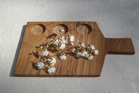 Teak Steak Server Board