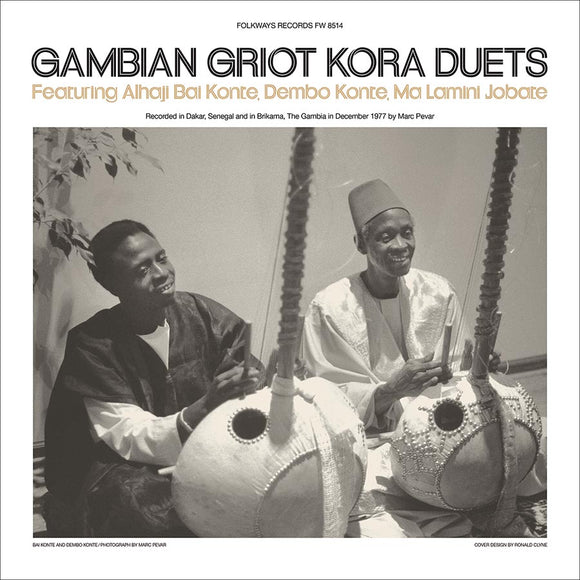 Various Artists - Gambian Griot Kora Duets