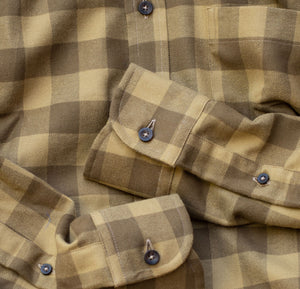 Fall Khaki Buffalo Plaid