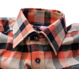 Fall Camel / Orange / Black Check