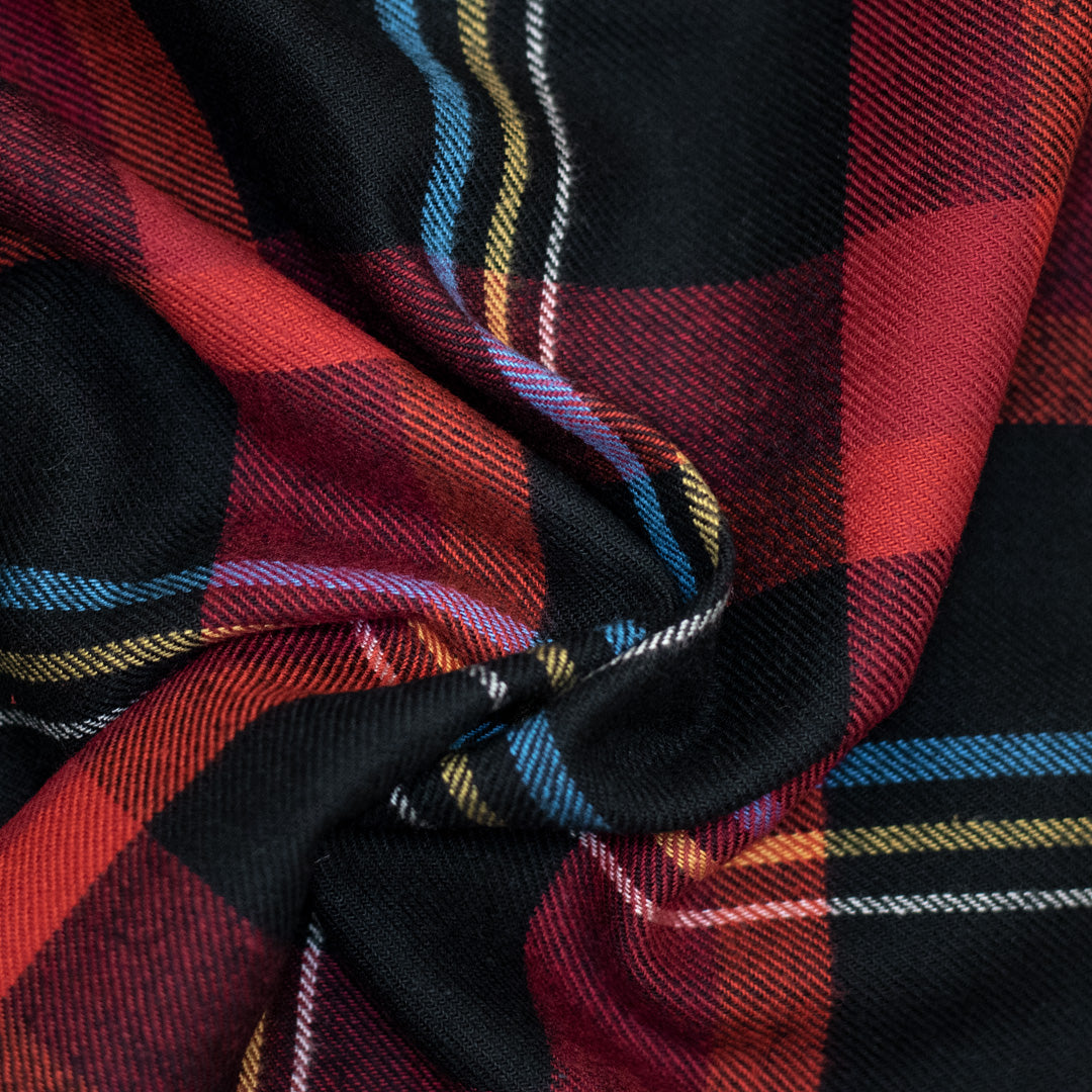 Fall Red / Black / Yellow / Blue Plaid