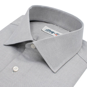 Grey Pinpoint Oxford