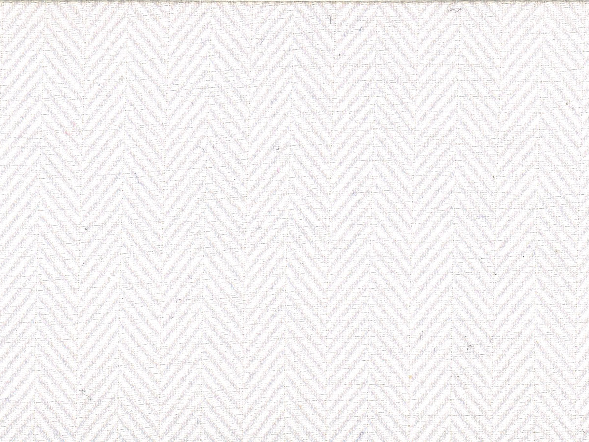 White Chevron Twill