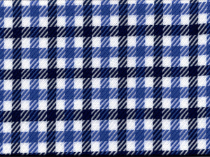 Navy/Blue Twill Gingham
