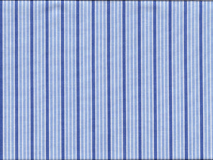 Variegated Blue Dress Stripe