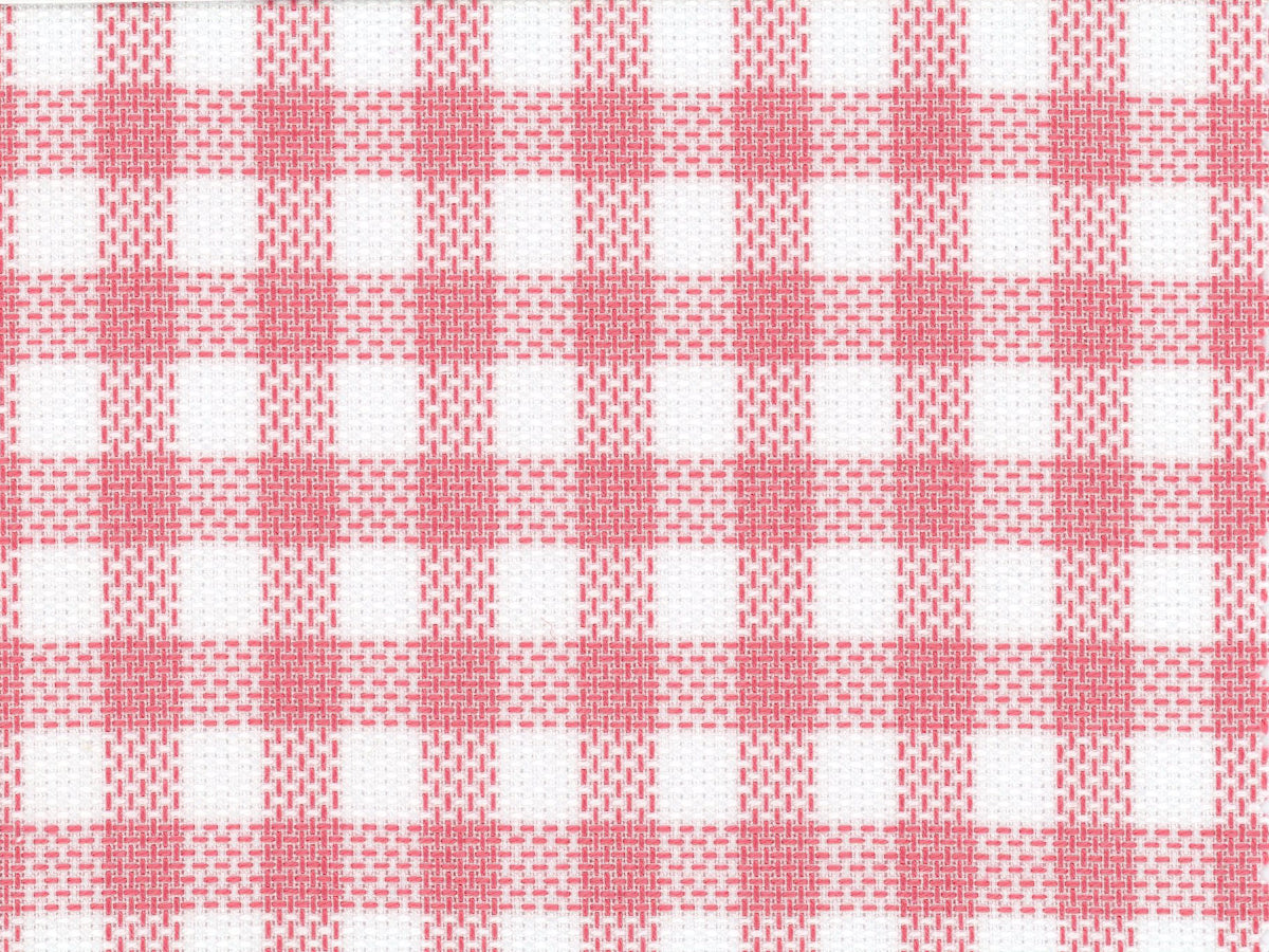 Pink Gingham Oxford