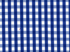 Blue Gingham Broadcloth