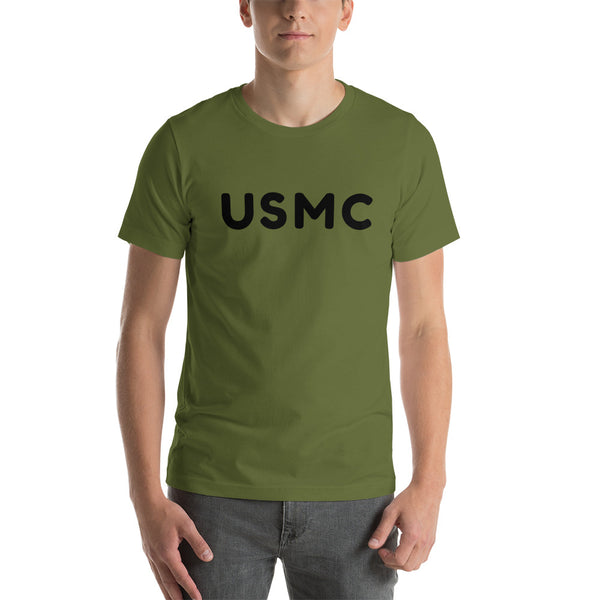 USMC - Short-Sleeve Unisex T-Shirt