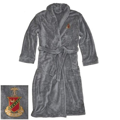 Sale! Kappa Sig Charcoal Ultra Soft Robe