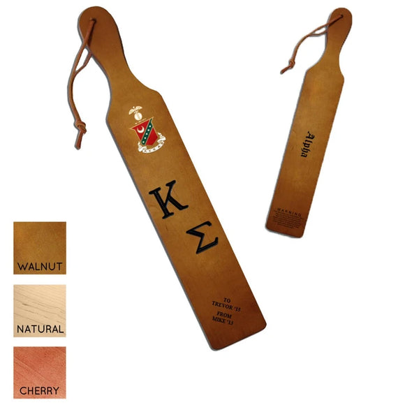 Kappa Sig Personalized Traditional Paddle