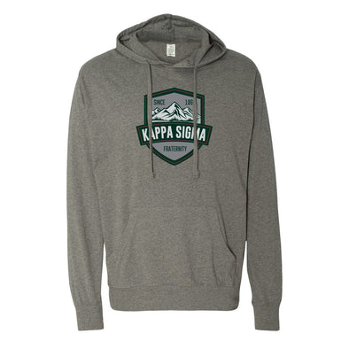 New! Kappa Sig Lightweight Mountain Hoodie
