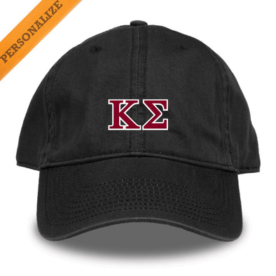 Kappa Sig Personalized Black Hat by The Game