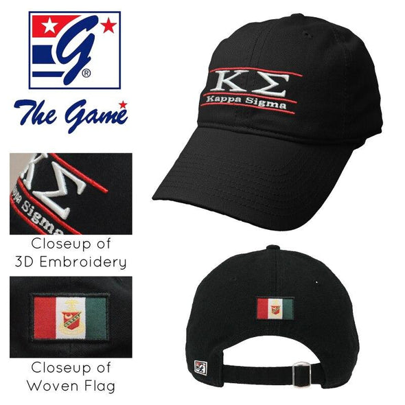 Kappa Sig Black Ultimate Hat by The Game®
