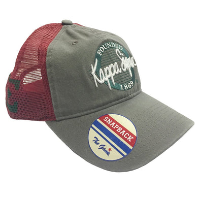 Clearance! Kappa Sig Mesh Trucker Hat By The Game®