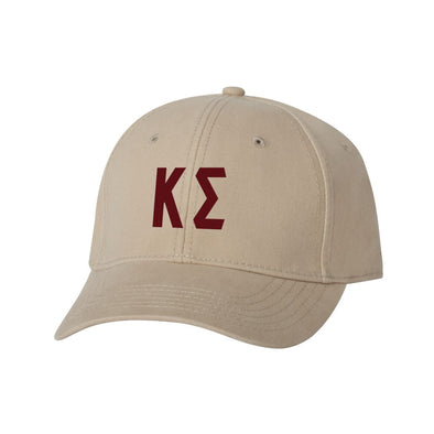 Kappa Sig Structured Greek Letter Hat