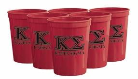 Kappa Sig Red Plastic Cup