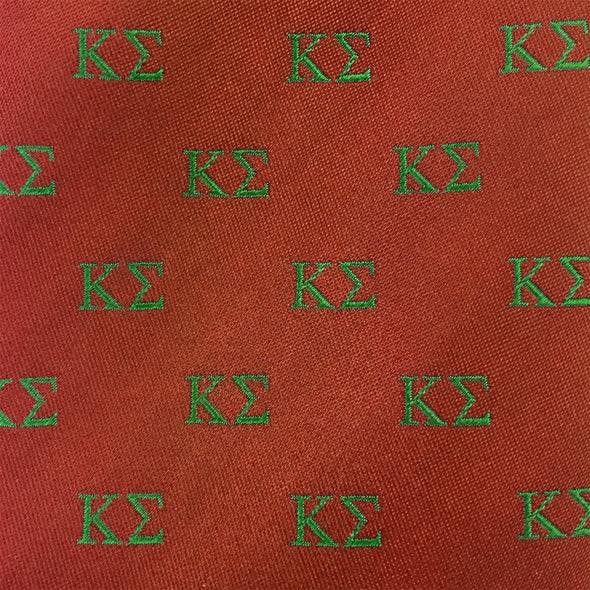 Sale! Kappa Sig Greek Letter Silk Tie