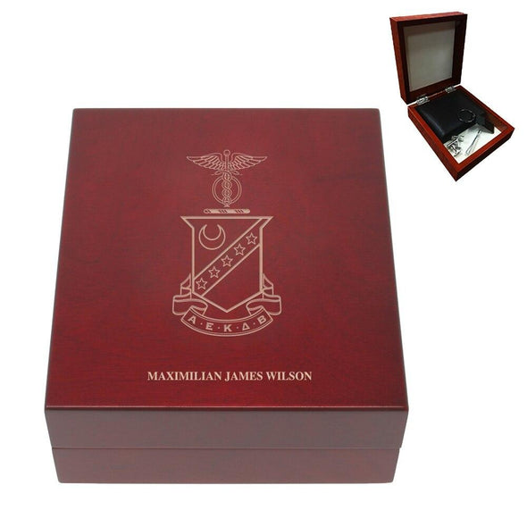 Sale! Kappa Sig Personalized Rosewood Box