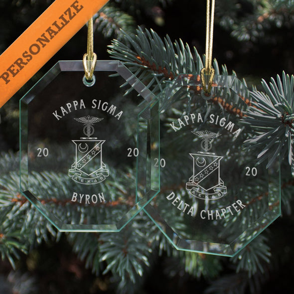 New! Kappa Sig 2020 Personalized Limited Edition Holiday Ornament