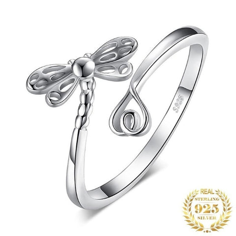 Dragonfly Cubic Zirconia Rings