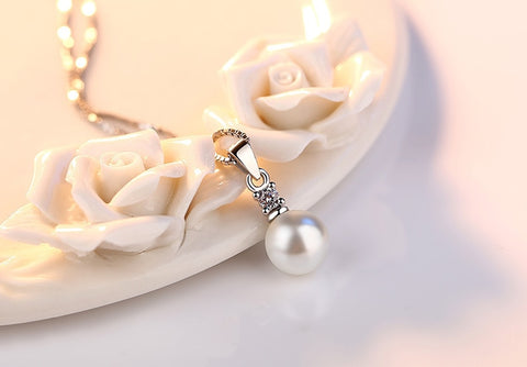 High Quality Pearl Round Necklace