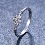 Snowflake Flower Ring