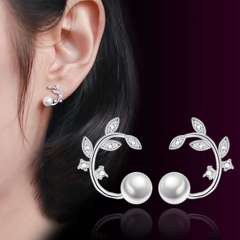 Simple Cubic Flower Peal Hot Jewelry