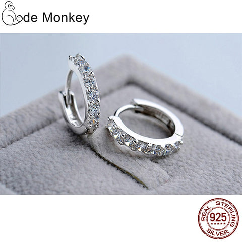 Code Monkey's Circle Earrings