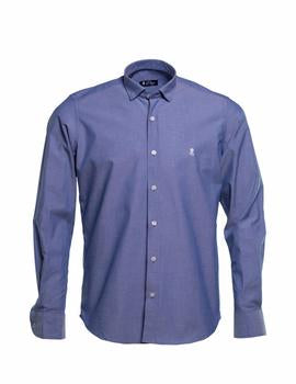 CAMISA EL PULPO OXFORD AZUL 6610