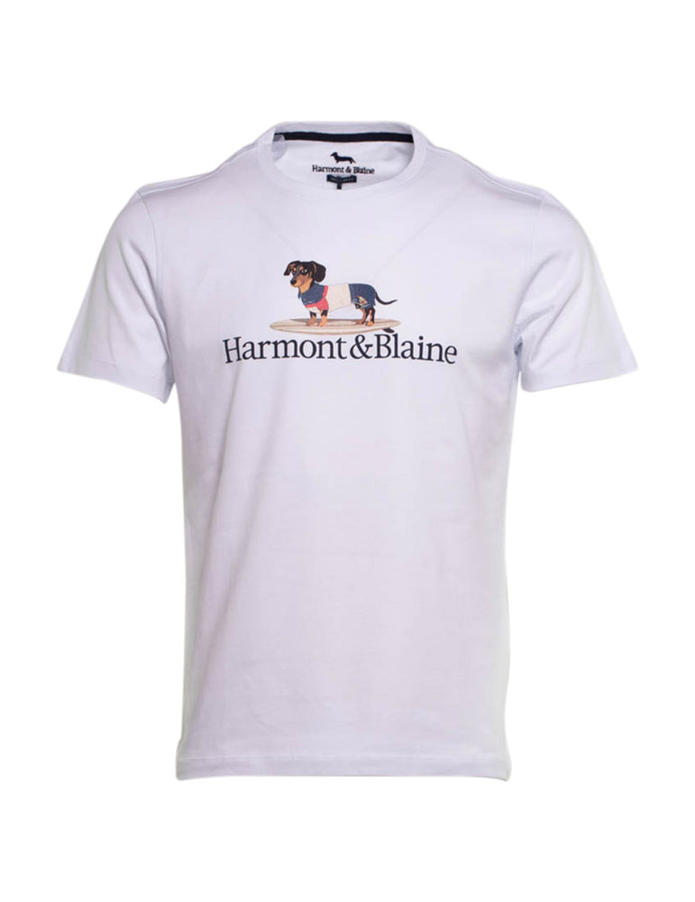 CAMISETA HARMONT AND BLAINE BLANCA 6934