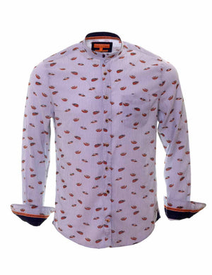 CAMISA COLOURS AND SONS MAO ESTAMPADA