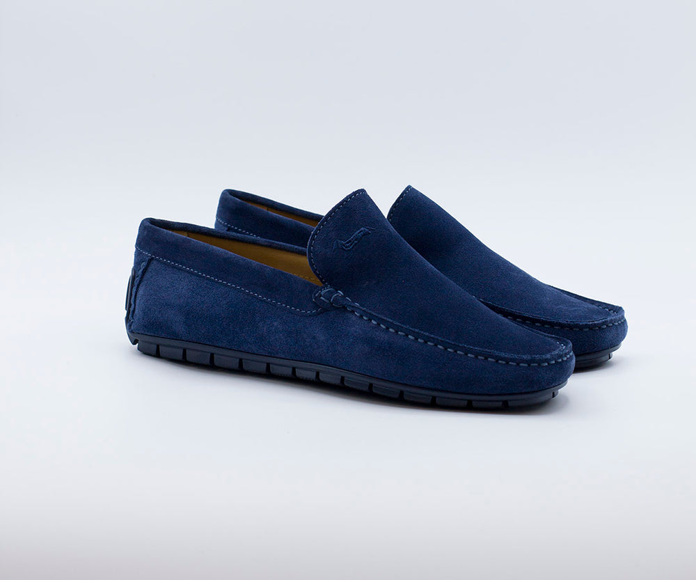 MOCASIN LISO HARMONT AND BLAINE AZUL 5788