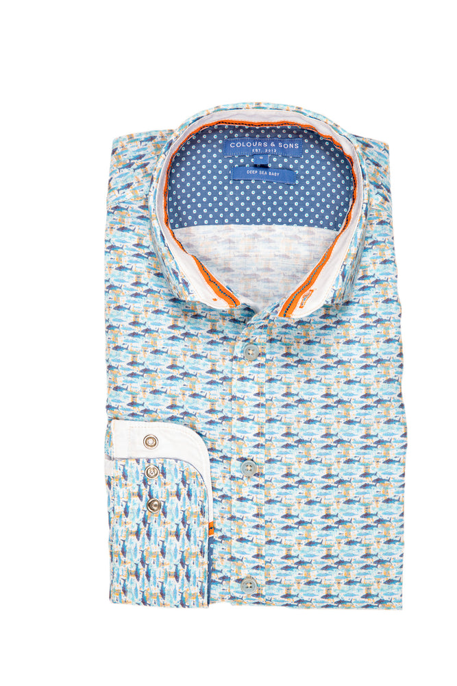 CAMISA COLORS AND SONS SHARK