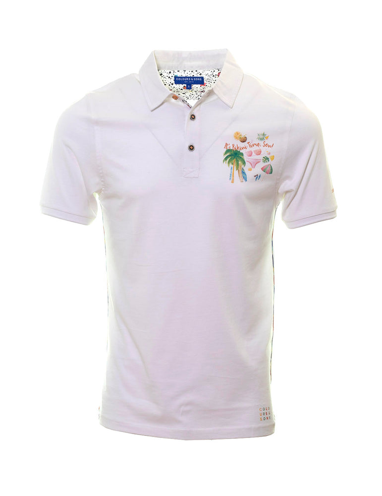 POLO COLOUR & SONS BLANCO